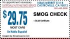 CASTROVILLE AUTO AND SMOG SERVICE