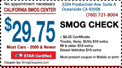 Oceanside-Smog-Coupons