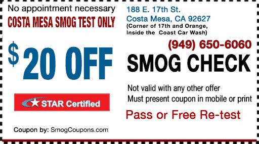 Smog-Coupon-Costa-Mesa