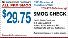 Smog Check Coupons