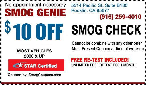 $31.75 Smog Check with Smog Coupon: