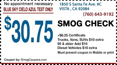 Smog Coupon