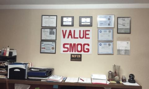Value Smog Smog Coupons